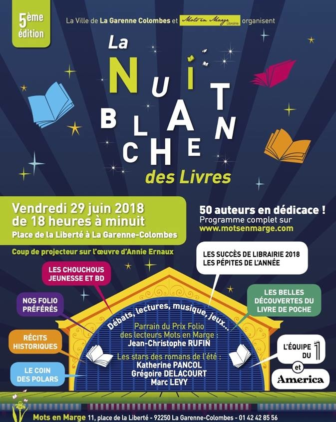AFFICHE NUIT BLANCHE PHOTO